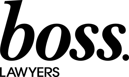 Boss Lawyers Logo BLK FB