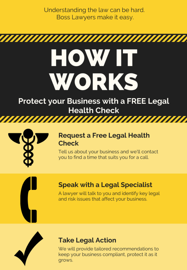 Boss Lawyers Legal Health Check